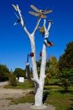 Död trädkonst Royaltyfri Fotografi