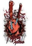 Dödande fest Stock Illustrationer