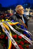 Dödcomemoration av konungen Mihai av Rumänien Royaltyfri Foto