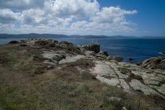 Dödkusten i Galicia Royaltyfri Bild