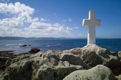 Dödkusten i Galicia Arkivfoto