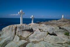 Dödkusten i Galicia Arkivfoton