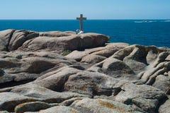 Dödkusten i Galicia Arkivbilder