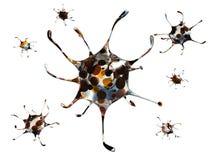 Dödlig virus royaltyfri illustrationer