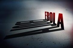 Dödlig virus Ebola Stock Illustrationer
