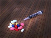 Dödliga droger royaltyfri fotografi