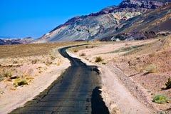 dödnationalparkdal Arkivfoto