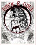 Dödsstöt Royaltyfri Illustrationer