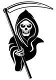dödtecken stock illustrationer