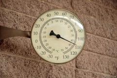 dödtemperaturdal Arkivfoton