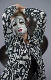 Dölja bak en maskering Royaltyfri Fotografi