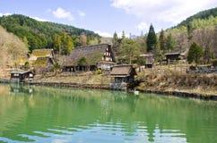 Dörfer Japan lizenzfreies stockbild