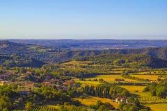 Dörfer von Italien Lizenzfreies Stockbild