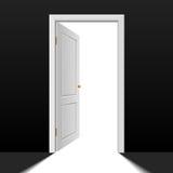 dörröppning Arkivbilder