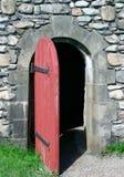 dörröppning för 18th århundrade Royaltyfria Foton