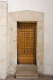 Dörröppning för prästen Fotografering för Bildbyråer