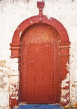 Dörröppning i Casablanca Arkivfoton