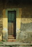 Dörröppning in i forntiden Royaltyfria Foton