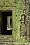 dörröppning sculpted vägg Royaltyfria Foton