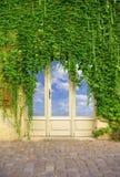 Dörröppning till himlen Fotografering för Bildbyråer