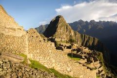 Dörröppning till Machu Picchu Royaltyfria Bilder