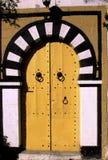dörröppning tunisia arkivfoton