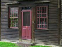 dörröppningshustappning arkivfoto