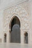 Dörr av den hassan moskén, Casablanca arkivbilder
