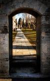 Dörr av historia Royaltyfri Foto