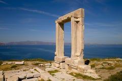 Dörr av Naxos Arkivbilder