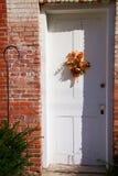 dörr för 2 garnering arkivfoto