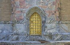 Dörr för Bok tornguld Royaltyfria Bilder