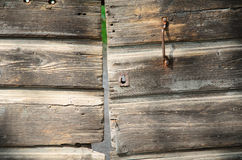 Dörr för fast trä Royaltyfri Foto