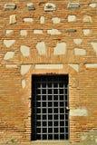 Dörr för forntida gravvalv i den Appia Antica gatan i Rome Fotografering för Bildbyråer