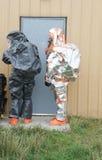 Dörr för Hazmat lagöppning Royaltyfri Bild