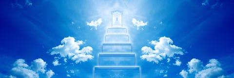 dörr heavenly stock illustrationer