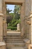 Dörr i Roman Theatre av Merida Royaltyfria Bilder