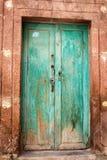 Dörr i San Miguel de Allende Royaltyfria Bilder