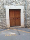 Dörr i staden Royaltyfri Fotografi