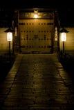 dörr kyoto Arkivfoto