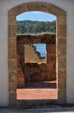 Dörr och fönster Arkivbild