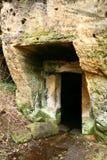 Dörr och portal i vagga Royaltyfria Bilder