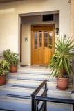 Dörr och trappa Royaltyfri Fotografi