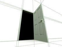 dörr som drowing Royaltyfria Bilder