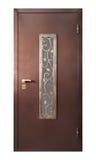 Dörr som isoleras på vit arkivbilder