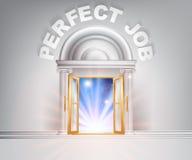 Dörr till det perfekta jobbet Arkivfoton