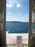 Dörr till havet Arkivbilder