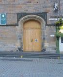 Dörr till kyrkan av Skottland arkivbilder