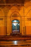Dörr till moskén Royaltyfri Foto