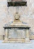 Dörr Trujillo av Plasencia, Caceres, Spanien Arkivbild